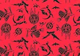 Best Gifts For Halloweens - Witches Goblins Bats Pumpkins Halloween Gift Wrap Paper Review