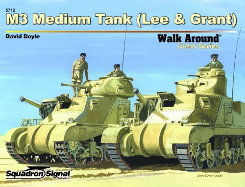 M3 Medium Tank (Lee & Grant) - Armor Walk Around Color for sale  Delivered anywhere in USA