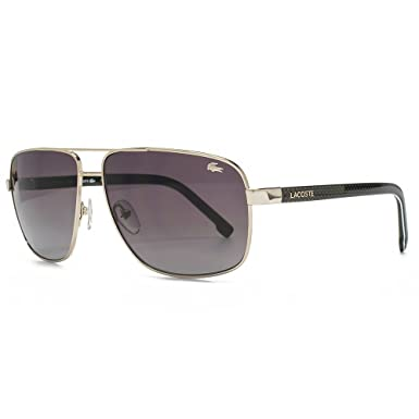 c81f0c5774 Lacoste Metal Square Sunglasses in Gold L162S 714 61  Amazon.co.uk  Clothing