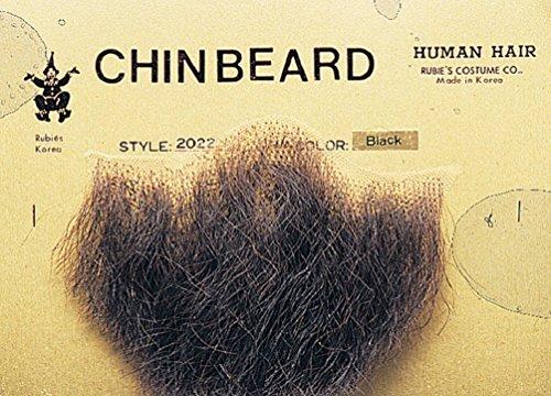 Human Hair Chin Beard Goatee (Beard With Goatee)