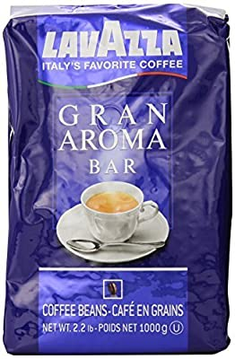 Lavazza Gran Aroma Bar Coffee Beans, 2.2-Pound by LAVAZZA PREMIUM COFFEES COMPANY [Foods]