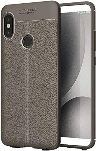the latest 7c044 c6626 Vivo V9 Leather Pattern Soft Auto Focus Back Case Cover: Amazon.in ...