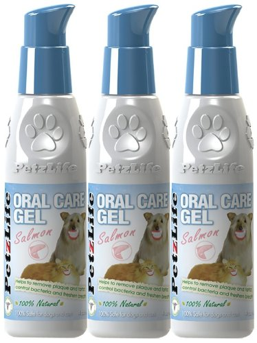 3PACK Petzlife Oral Care Gel w/ Salmon Oil (12 oz) by PetzLife (Image #1)