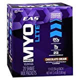Cheap EAS Myoplex Lite Protein Shake Mix Packets, Chocolate Cream, 1.9 oz packets, 20 servings