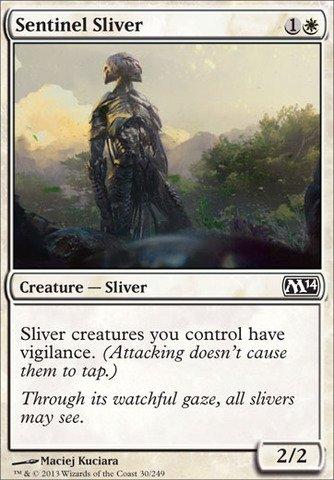 Sliver Magic Gathering (Magic: the Gathering - Sentinel Sliver (30/249) - Magic)