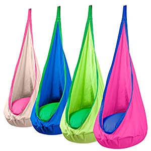 Driftsun Hammock Pod Kids Swing - Various Colors