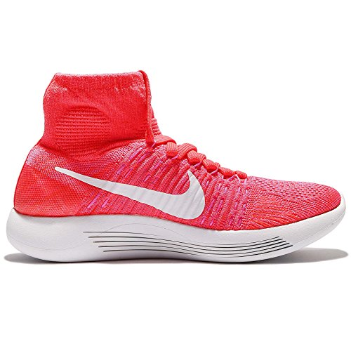 Nike 818677-602, Zapatillas de Trail Running para Mujer Naranja (Bright Crimson / White-Pink Blast)