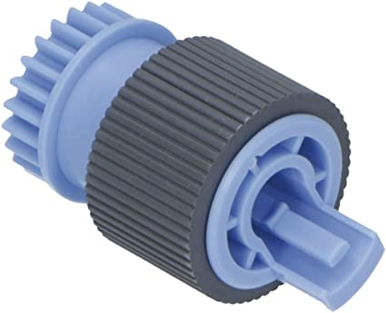 Rubber roller with drive gear HP RF5-3340-000CN Paper pick-up and feed roller assembly