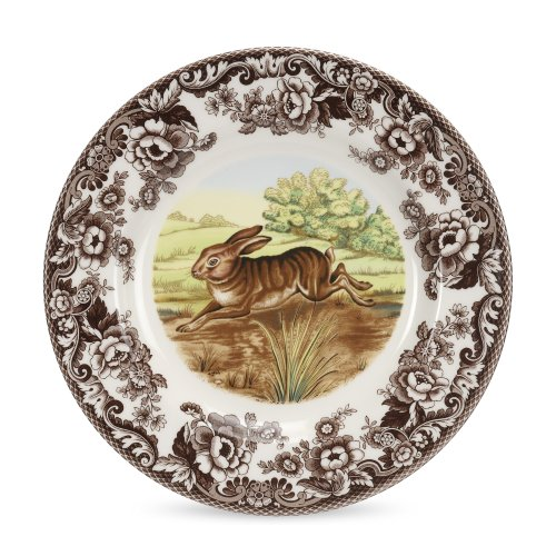 (Spode Woodland Rabbit Dinner Plate)