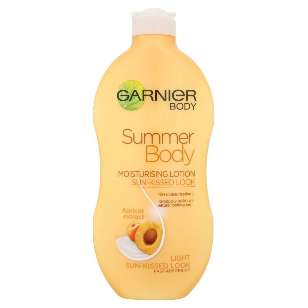 Garnier Skin Naturals Summer Body Moisturising Lotion Light (400ml) Groceries