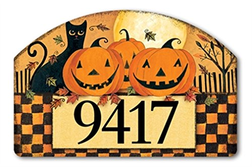 [YardDeSign Halloween Glow Yard DeSign Yard Sign 71424] (Halloween Yard)
