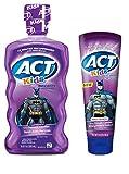 Act Kids Batman Fruit Punch Mouthwash and Toothpaste Set