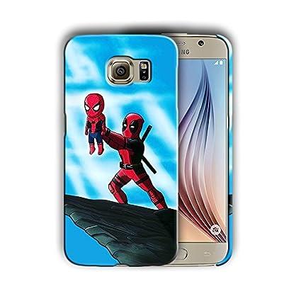 Amazon.com: Spiderman for Samsung Galaxy S7 Hard Case Cover ...