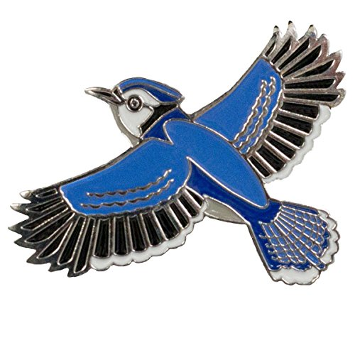 - Dark Spark Decals Blue Jay Bird 1.25