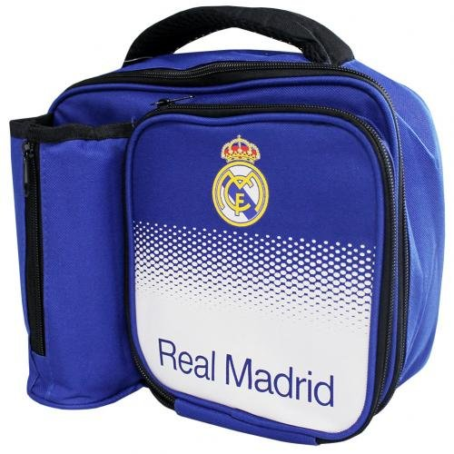 (Real Madrid Lunch Box and Bottle - Authentic Primera Liga Merchandise)
