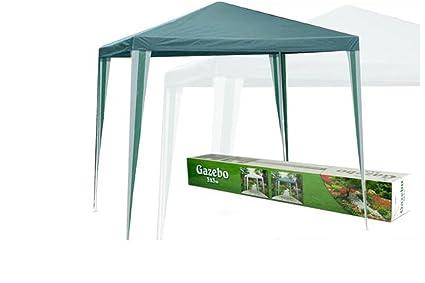 Gazebo estensibile richiudibile fiere campeggio mt verde