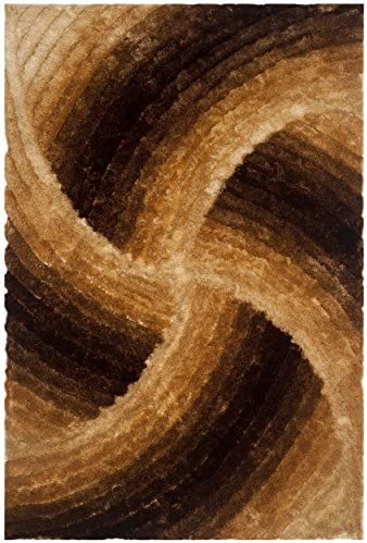 Safavieh 3D Shag Collection SG553D Handmade 1.25-inch Thick Area Rug