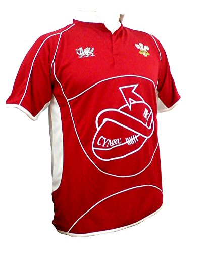 Dragontail'Wales Rugby-Shirt Cooldry