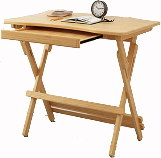 Folding table Nan Escritorio de bambú Mesa elevable Plegable ...