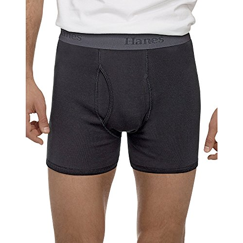 Hanes Men's TAGLESS Ultimate X-Temp' Boxer Briefs with Comfo