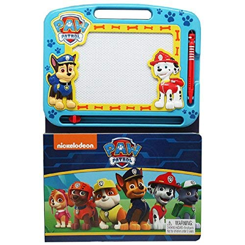 Phidal Publishing Nickelodeon Paw Patrol - Learning Book with Magnetic Drawing Pad