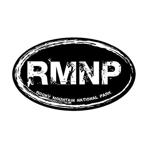 CafePress - Rocky Mountain Natl Park Sticker (Oval) - Oval Bumper Sticker, Euro Oval Car Decal - Colorado Rocky Mountain Natl Park