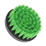 Yellow Green Drill Cleaning Brush Heavy Duty Cleaner Scrubber with Stiff Bristles for Carpet Car Mats Tile Xuanhemen