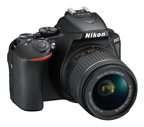 Nikon D5600 Digitale spiegelreflexcamera, zwart, Kit AF-P VR DX 18-55, zwart
