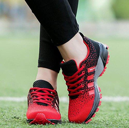 Leicht Wanderschuhe Rot Sneaker Gute Damen Blau PAMRAY 36 Qualität Schwarz Rot Laufschuhe 46 Herren Grün 6TIxqwgt