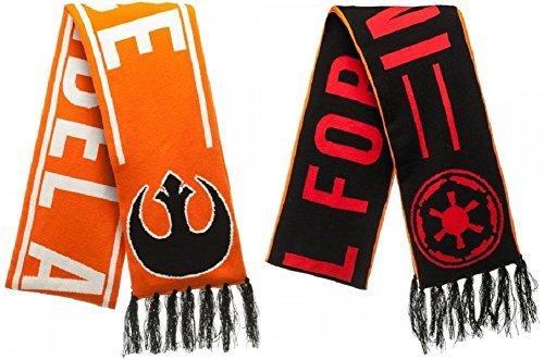 Star Wars Reversible Rebel Alliance Imperial Force Jacquard Scarf