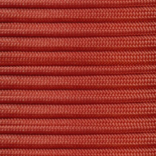 Paracord Planet 550 lb, 100' Foot Hank, International Orange Parachute Cord. Also known as paracord rope, parachute rope, utility cord, tactical cord, and military cord. USA made to provide durability and strength.