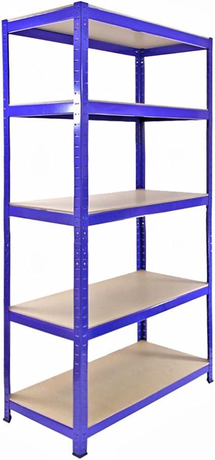 T Rax Garage Shelving Unit 5 Tier Heavy Duty Rack For Storage Steel Utility Shelves
