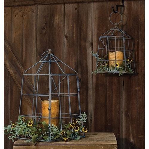 Heart of America Open Air Lanterns - Set of 2