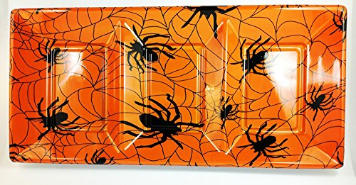 2-pack Halloween Serving Tray for Cupcakes, Biscuits and Candies ()