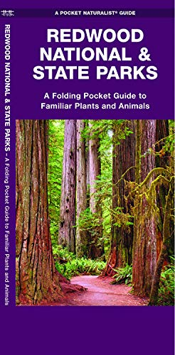 Redwood National & State Parks: A Folding Pocket Guide to Familiar Plants and Animals (A Pocket Naturalist Guide)