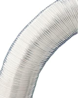 Tubo flexible 10m resistente al calor de eyepower Manguera de Aluminio del conducto de aire de ventilaci/ón /Ø150mm