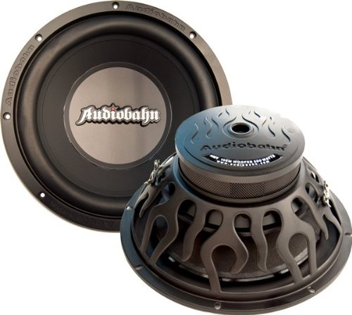 Audiobahn AMV125M 12-Inch 350W Swerve Series Flame Dual 4 Ohm Car Audio Subwoofer