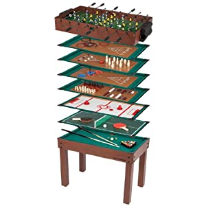 Ultrasport game table 12 in 1 game zone table size 42 x for 12 in 1 table games