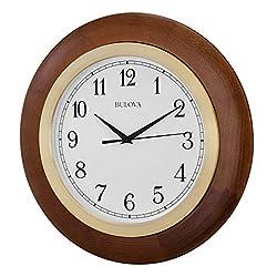Bulova Carmel Large Wall Clock