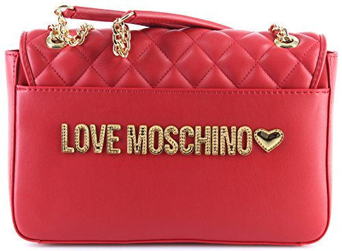 Love Nappa Col Rosso Borsa Moschino Bs18mo82 Donna Ecopelle Tracolla Trapuntata In Rw68Y5xq6
