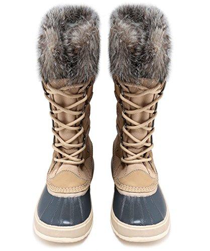 Sorel Women's Joan of Arctic Boots, Oatmeal, 9 B(M) US by SOREL (Image #2)