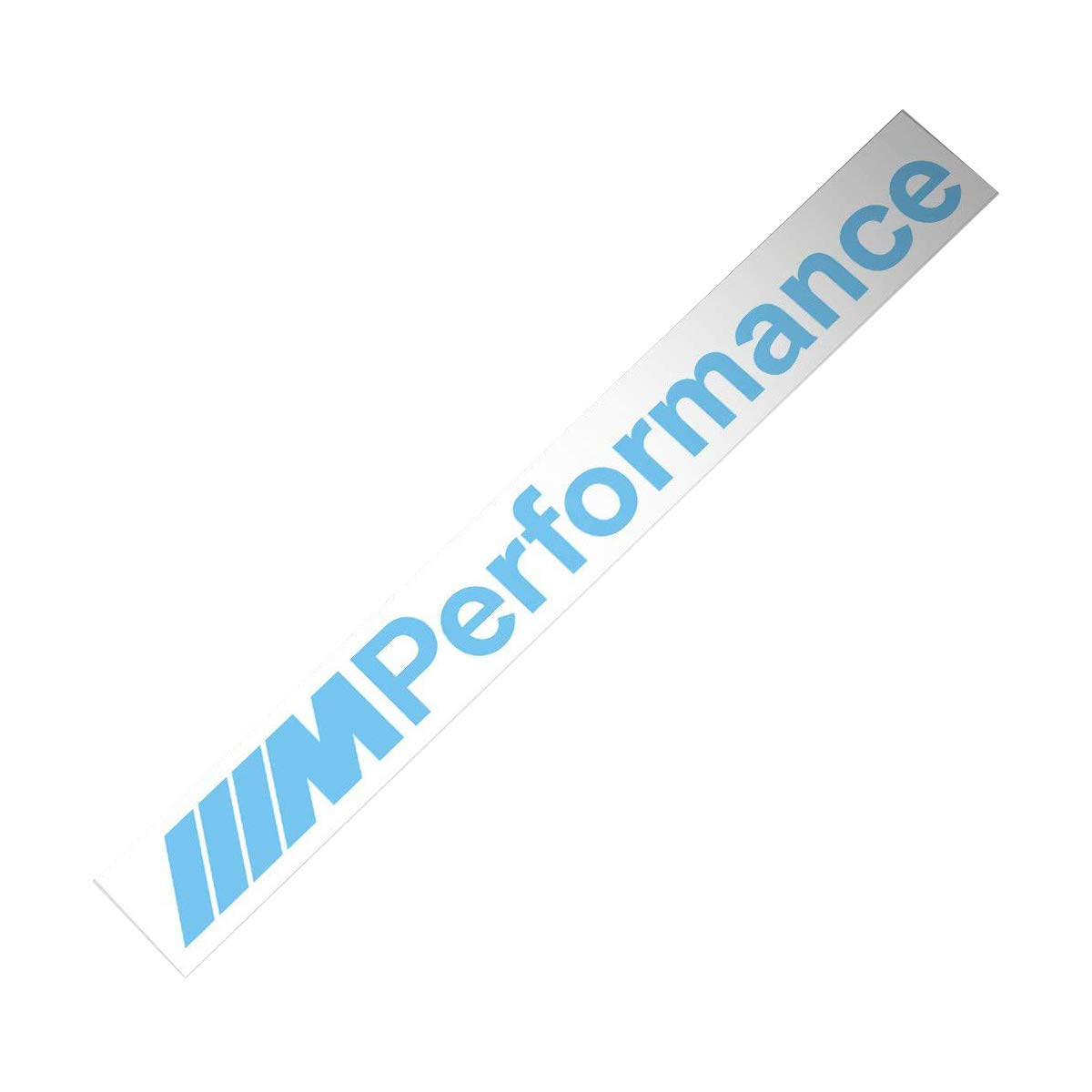 New Font Letter Demupai for M Performance Windshield Decal Windows Sticker
