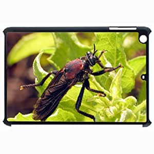 Customized Back Cover Case For iPad Air 5 Hardshell Case, Black Back Cover Design Insect Personalized Unique Case For iPad Air 5