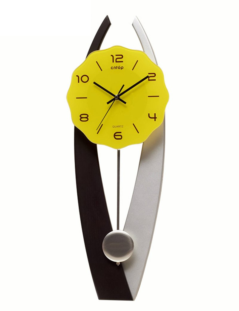 Cai 置き時計掛け時計-26インチ手作りミュートウォールクロックリビングルームクリエイティブウォールクロックミュートステアリング手作り工芸品の壁時計 B07CCBJ8FZ