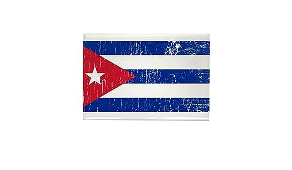 CafePress – Vintage Cuba – rectangular imán, 2