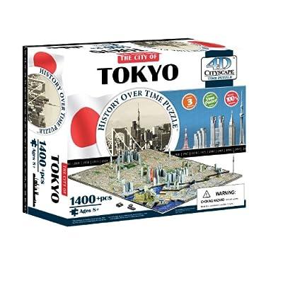 4d Tokyo Cityscape Time Puzzle
