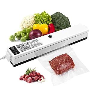 Macchina Sottovuoto per Alimenti, iLmyh Sigillatore Automatico Sottovuoto per Alimenti Freschi Sia Secchi Che Umidi… 19