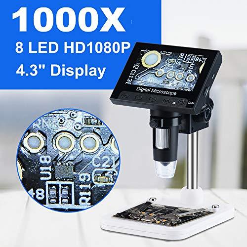 1000x2.0 mp USB Microscope Électronique Numérique DM4 4.3