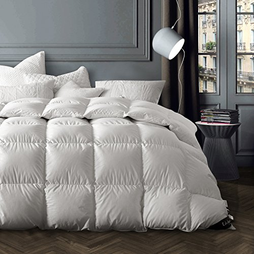king polyester goose down true size comforter fabric luxury pin winter white cotton lightweight autumn for
