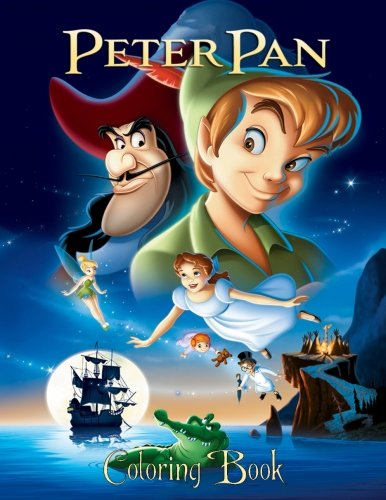 Read Online Peter Pan: Coloring Book for Kids and Adults, Activity Book, Great Starter Book for Children (Coloring Book for Adults Relaxation and for Kids Ages 4-12) pdf epub
